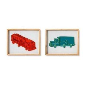 Pillowfort Wall Decor 2-Pack Car and Truck